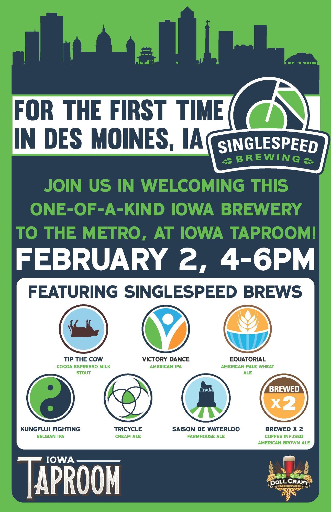SingleSpeed at Iowa Taproom