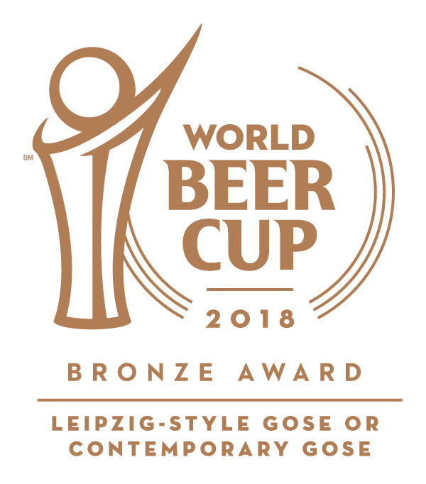World Beer Cup 2018 - Bronze Award - Leipzig-Style Gose or Contemporary Gose